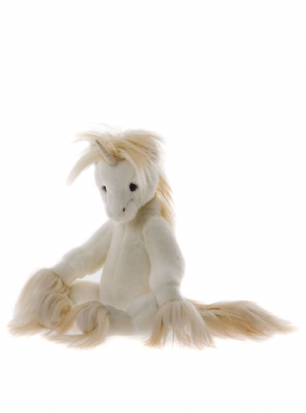 Oona, limited edition unicorn by Charlie Bears.